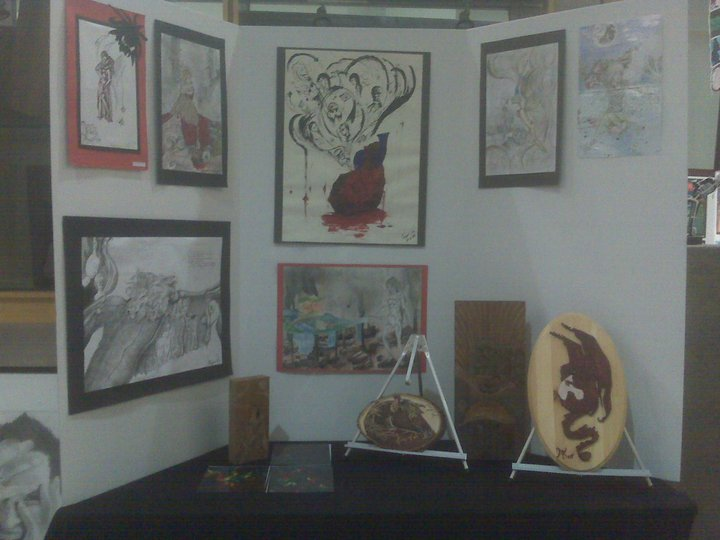 2011 Art IB Gallery DIsplay